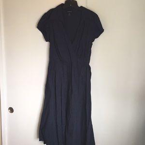 100% cotton wrap dress Lane Bryant size 18.